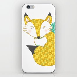 Fashionable Fox iPhone Skin