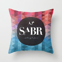 SABR Throw Pillow