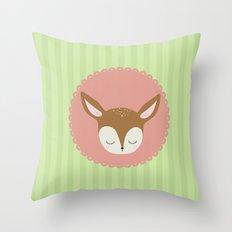 deery Throw Pillow