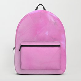 Folds In Pink Backpack