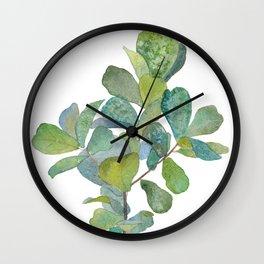 Fiddle Leaf Fig Tree Wall Clock