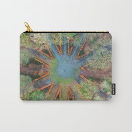 Natural clock green Carry-All Pouch