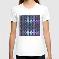 shining T-shirts featuring Shining Shapes by Nahal