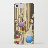 crown iPhone & iPod Cases featuring Crown by Massimo Merlini