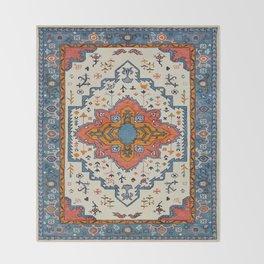 N125 - HQ Bohemian Traditional Moroccan Style Decor Artwork. Throw Blanket