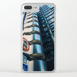 The Future of London Clear iPhone Case