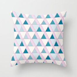 Top Triangle Throw Pillow