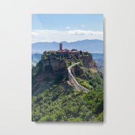 Civita di Bagnoregio - Italy Metal Print