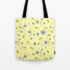 Botanical Print (Hound's Tongue)  Tote Bag