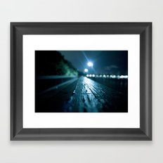 Grove Lights Framed Art Print
