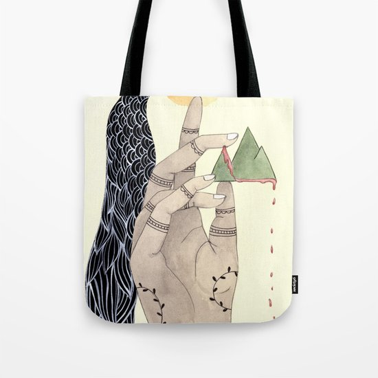 Hand to Home Tote Bag