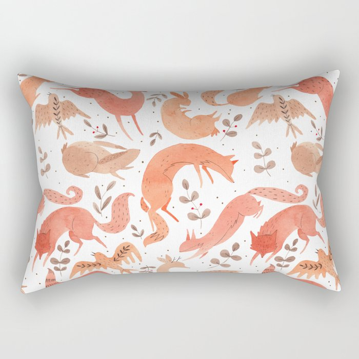 Wild Beasts Rectangular Pillow