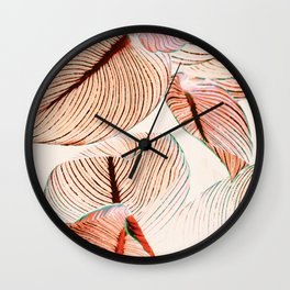 Unbridled - fall Wall Clock