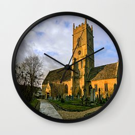 Beckford Church Wall Clock