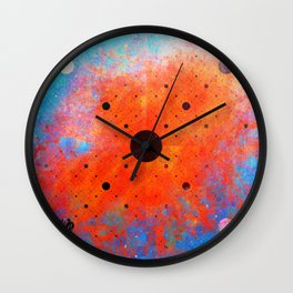 Window to the Other Side Wall Clock