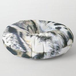 Clouded Leopard Floor Pillow