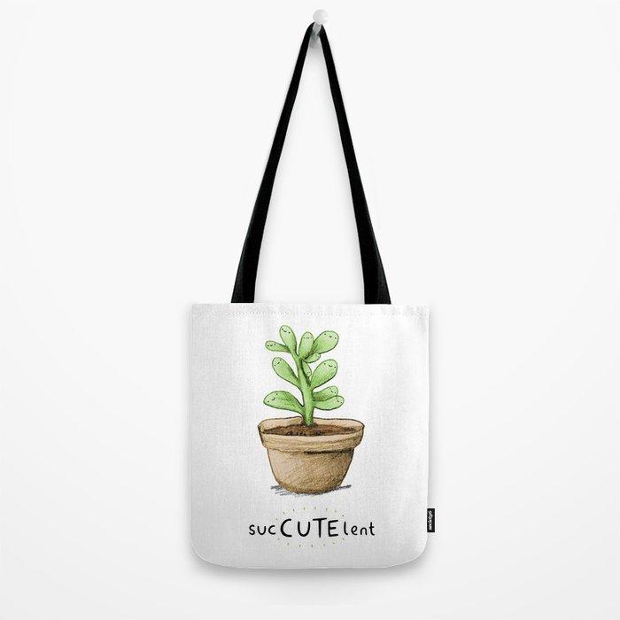 SucCUTElent Tote Bag