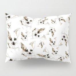 Chihuahua watercolor pattern Pillow Sham