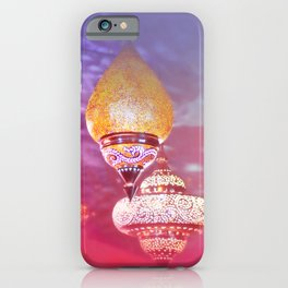 Oriental Magical Lights and Love iPhone Case