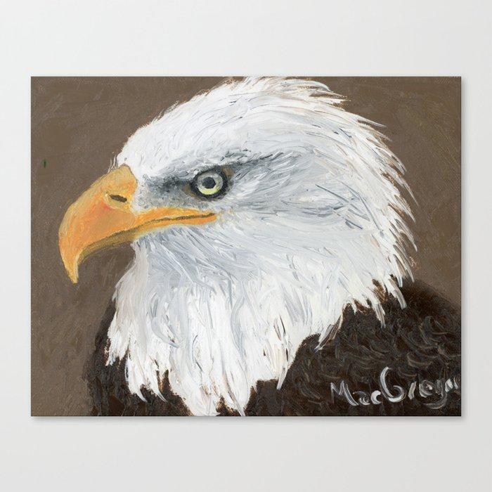 Eagle by MacGregor Canvas Print
