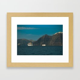 Santorini, Greece 5 Framed Art Print