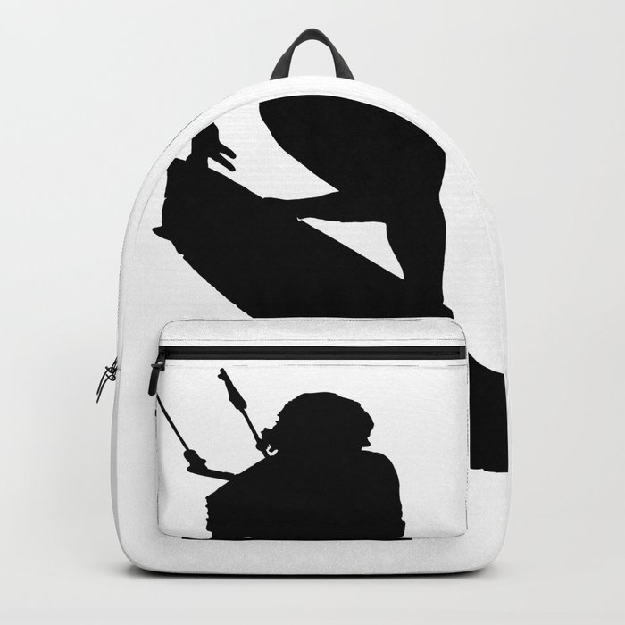 A Kitesurfers Freestyle Silhouette Backpack