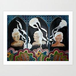 The Light in the Dark  Art Print