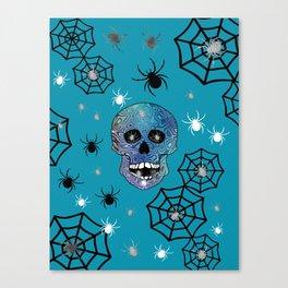 Creepy Crawling Spiders Canvas Print