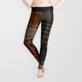 Grids 1 Leggings