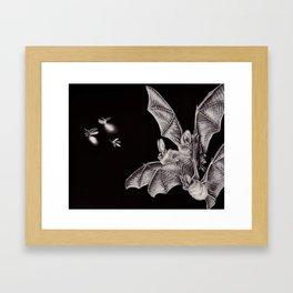 Tiny Hunters I Framed Art Print