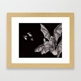 Tiny Hunters I Framed Art Print