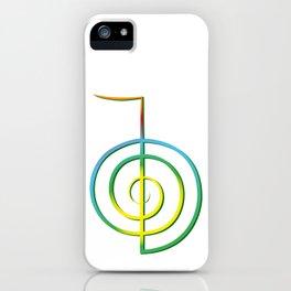 Cho-Ku-Rei - Reiki-Symbol iPhone Case