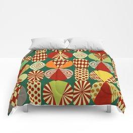 Christmas tree Minimalist green Comforters