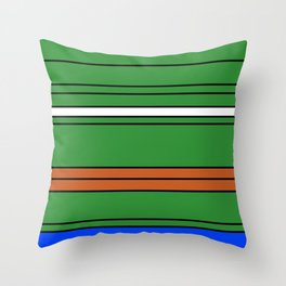 Pepe square Throw Pillow
