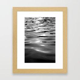 Water one Framed Art Print