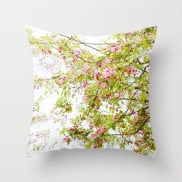 Spring Confetti Throw Pillow