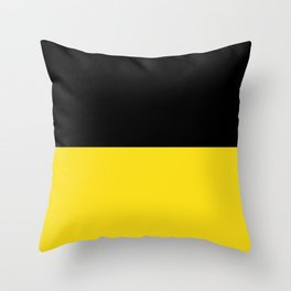 Flag of Baden-Württemberg Throw Pillow