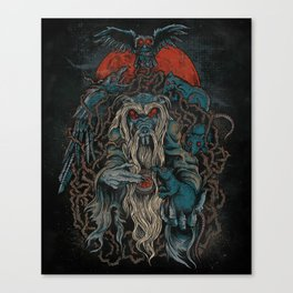 Nicodemus & The Rats of the Rosebush  Canvas Print