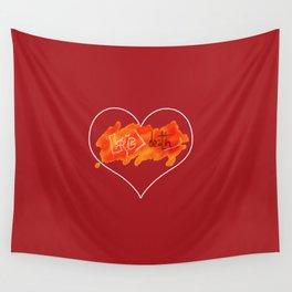 #LoveNotDeath Wall Tapestry