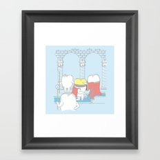 The Crowning of King Molar Framed Art Print