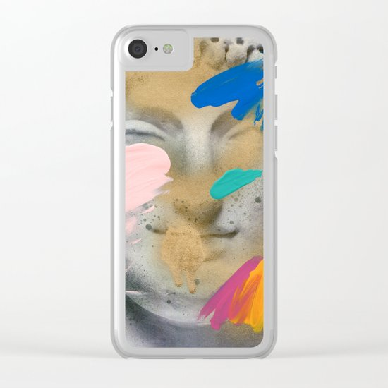 Composition 514 Clear iPhone Case