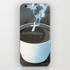 Crash Landing iPhone Skin