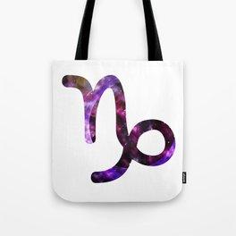 Galactic Capricorn Tote Bag