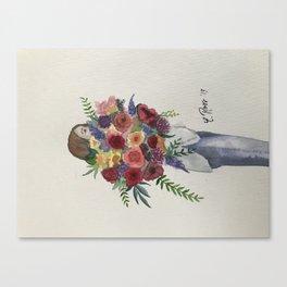 Big bouquet Canvas Print