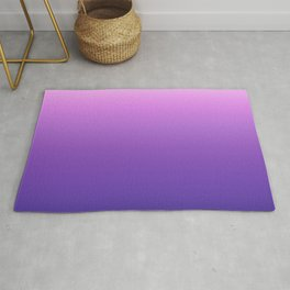Purple Morning Glory Ombre Rug