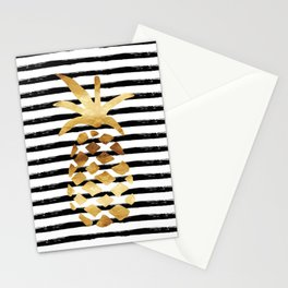 Pineapple & Stripes Stationery Cards