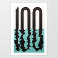 the 100 Art Prints featuring #100 by Matt Hunsberger
