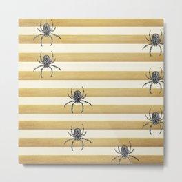 Descending Spiders Metal Print