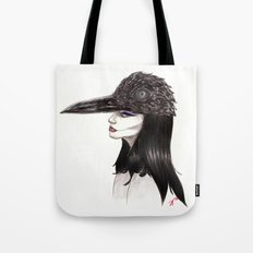 The Masquerade:  The Crow Tote Bag
