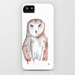 Lone Owl iPhone Case